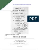 Tardieu Sur La Pendaison 1870 Francese