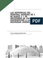 Ponencia Francisco Marín Castán