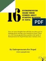 e4nepal Handbook Version1
