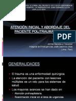 01 Atencion Inicial y Abordaje Del Paciente Politraumatizado