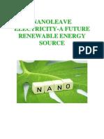 Nano Leave