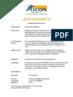 Thatchbor FR Data Sheet