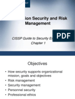 Information Security and Risk Management  ch01