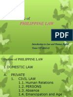 Outline of Phil Law_intro to Law