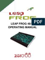 Zero 88 Leapfrog Manual