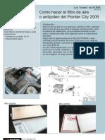 Filtro Antipolen VW Pointer