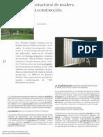 Panel Estructural de Madera y Su Uso en La Construccion