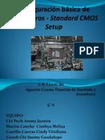 Configuración básica de parámetros - Standard CMOS Setup