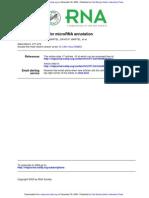 A Uniform System for MicroRNA Annotation