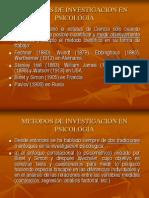 Diseños y Metodos de Investigación en Psicologia