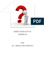 DISEÑO DE REACTIVOS