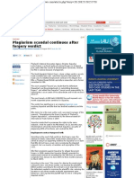 Plagiarism Scandal Continues After Forgery Verdict- World University News 26 Aug 2012