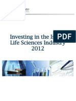Investing in the Israeli Life Sciences Industry 2012