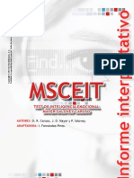 Informe MSC