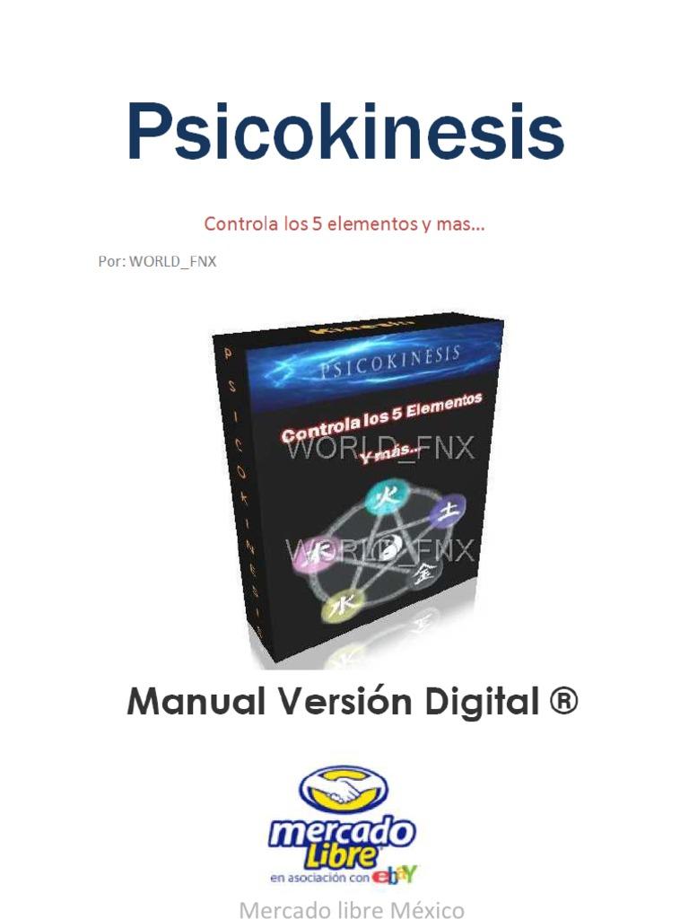 libro psicokinesis