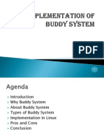Buddy System in Operating Systems