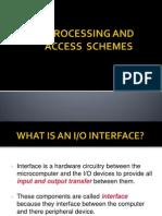 Input Output Processing (8086)