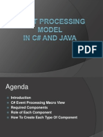 Event Processing Model in c# and Java