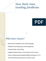 Inner Classes & MultiThreading in JAVA
