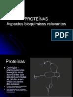 As proteínas