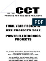 Power Electronics 2012-13 Projects