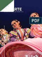 Agenda cultural de Conarte   Septiembre 2012