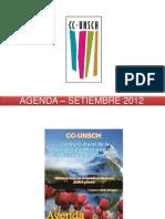 AGENDA – SETIEMBRE 2012