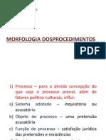 Morfologia Dos Procedimentos