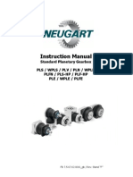 Standar Planetary Gearbox-Reductores Motores Paso a Paso-ToPAS