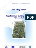 Vegetation and Building Facades