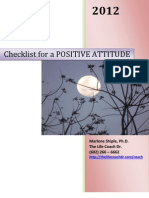 Positive Attitude Checklist