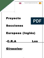 Proyecto Secciones Europeas Inglés C.R.A Los Girasoles junio 2012