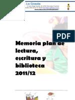 Memoria Biblioteca 2011-12