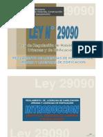 Exposicion Reglamento Licencias Habilitaciones Urbanas y Edif