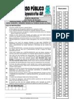 Prova Tecnico Adapi2010