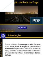 Rota Fuga Metro