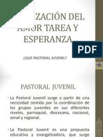 Etapa de La Pastoral Juvenil