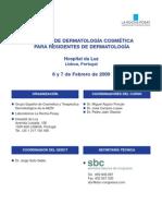 Programa XI Curso Dermatología Cosmética Residentes