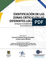 Identificacion de Las Zonas Criticas en Las Diferentes Localidades de Bogota - SGD (SUIVD)