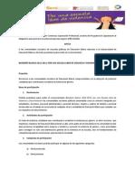 invitacion y criterios  para evaluación y entrega del bande