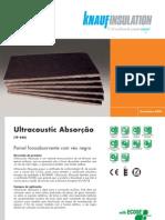 Ultracoustic Absorção-tecto falso perfurado