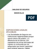 Contabilidad de Seguros Sesion No.20