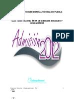 2012 Sociales y Humanidades