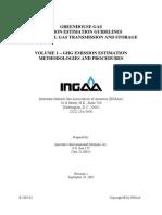 INGAA GHG Guidelines Vol 1 - Emission Estimative Methods