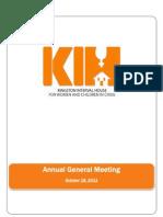 Annural General Meeting 2011
