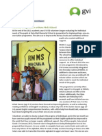 Fiji Childcare Achievement Report (April 2012)