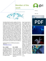 GVI Fiji Achievement Report - May, GVI Joins FLMMA
