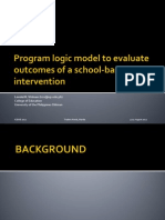 B1 Vinluan Program Logic Model