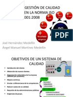 SISTEMAS DE GESTIÓN DE CALIDAD BASADOS EN LA