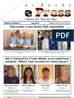 Upper Bucks Free Press • July 2012